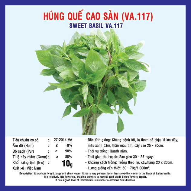 HÚNG QUẾ CAO SẢN (VA.117) 10gr