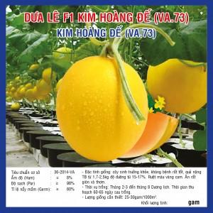 DƯA LÊ F1 KIM HOÀNG ĐẾ VA.73 10 HẠT