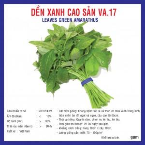 DỀN XANH CAO SẢN (VA.17) 20gr