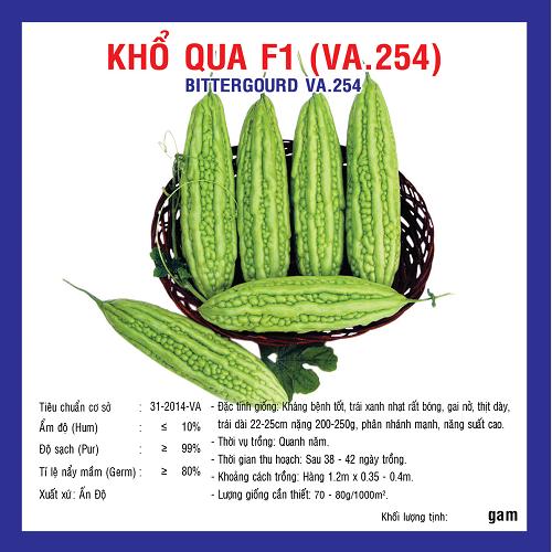 KHỔ QUA F1 10G (VA.254)