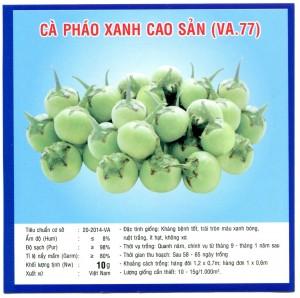 CÀ PHÁO XANH CAO SẢN (VA.77) 10GR