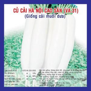 CỦ CẢI HÀ NỘI CAO SẢN  (VA.31) 50 gram