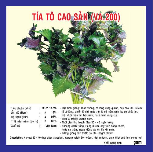 TÍA TÔ CAO SẢN (VA.200) 5gr
