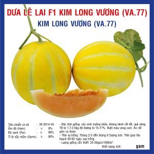 Dưa Lê Lai F1 Kim Long Vương (VA.77) 10 hạt