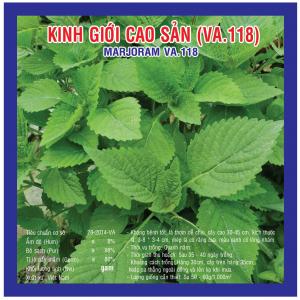 KINH GIỚI CAO SẢN (VA.118) 5gr