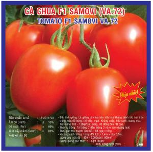 CÀ CHUA F1 SAMOVI (VA.72) 0.5gr